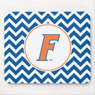 Orange & Blue Florida F Logo Mouse Pad