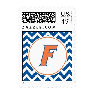 Orange & Blue Florida F Logo Postage