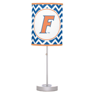 Orange & Blue Florida F Logo Table Lamp