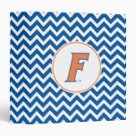 Orange & Blue Florida F Logo Vinyl Binder