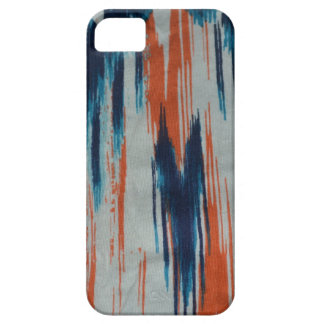 Orange Blue & White Tye Dye iPhone 5/5S iPhone 5 Cases