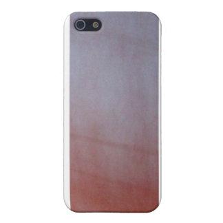 Orange Blur iPhone SE/5/5s Cover