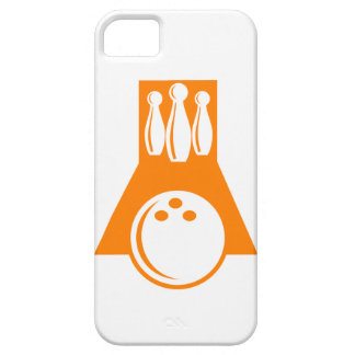 Orange Bowling iPhone 5 Cover