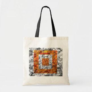 Orange Boxes Bag