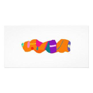 Orange Bread Photo Card