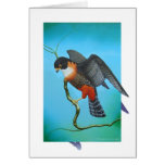 Orange-breasted Falcon Greeting Cards