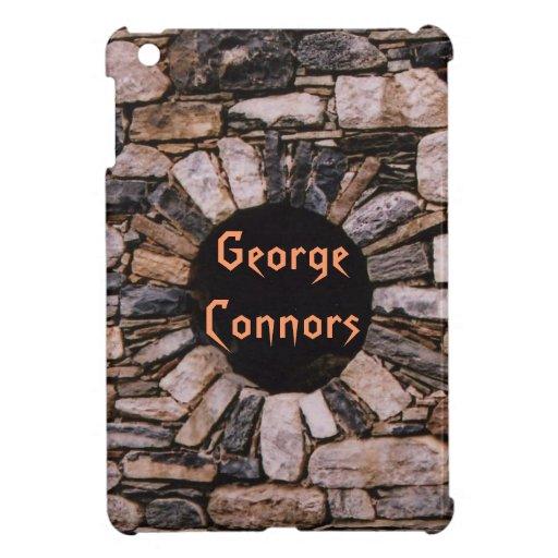 Orange Brick Wall iPad Mini Case *personalize*