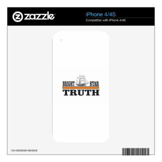 orange bright star of truth skin for the iPhone 4S