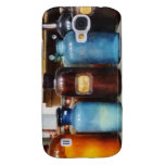 Orange, Brown and Blue Bottles of Chemicals Samsung Galaxy S4 Covers