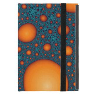 Orange bubbles cover for iPad mini