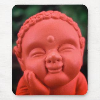 Orange BuddhaMousepad Mouse Pad