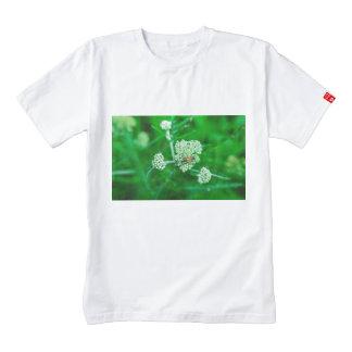 Orange bug on a white flower zazzle HEART T-Shirt
