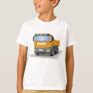 orange building sites truck T-Shirt