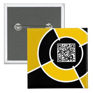orange bullseye QR code Button