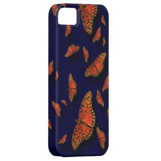 Orange Butterflies iPhone5 Barely There Case Mate