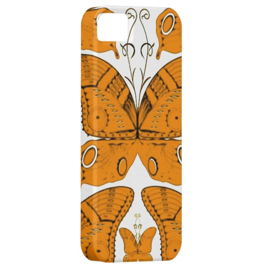 Orange Butterflies iPhone SE/5/5s Case