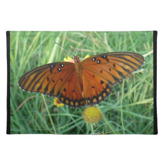 Orange Butterfly American MoJo Placemats