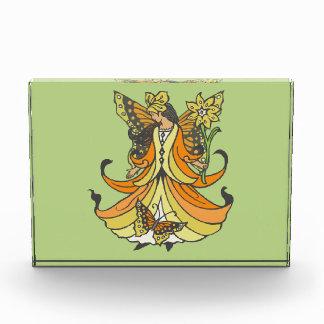Orange Butterfly Fairy With Flowing Dress Award