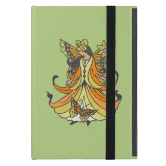 Orange Butterfly Fairy With Flowing Dress iPad Mini Case