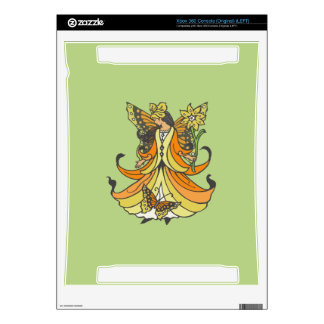 Orange Butterfly Fairy With Flowing Dress Skins For The Xbox 360