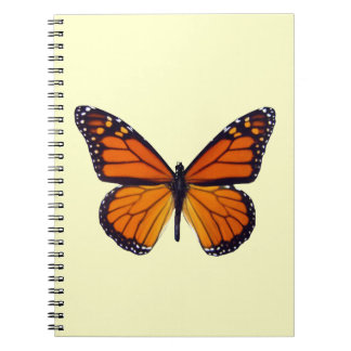 Orange Butterfly Notebook