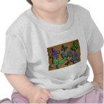 Orange Butterfly Rug infant shirt