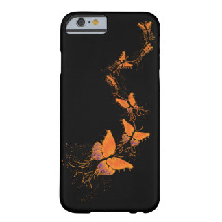 Orange Butterlies Phone/Tablet Case (Lori Corbett) Barely There iPhone 6 Case