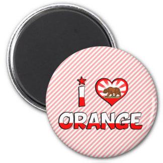 Orange, CA 2 Inch Round Magnet