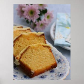 Orange Cake -  Food Poster