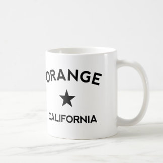 Orange California Coffee Mug