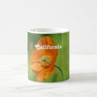 Orange California Poppy Coffee Mug