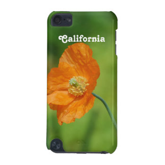 Orange California Poppy iPod Touch (5th Generation) Cover