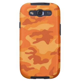 Orange Camo, Camouflage Samsung Galaxy SIII Case