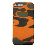 Orange Camo case for iPhone 6 case