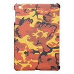 Orange Camouflage iPad Mini Case