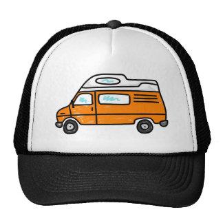 Orange Campervan Trucker Hat