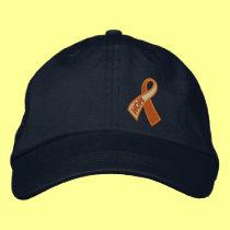 Orange Cancer ADHD Hope Ribbon Awareness Cap