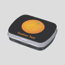 Orange Candy Tin