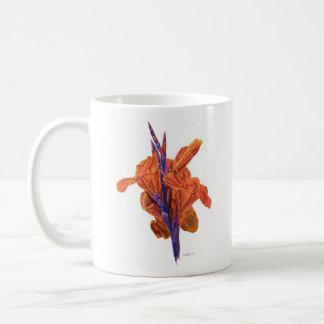 Orange Canna Coffee Mug
