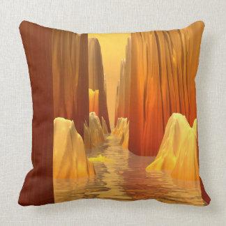 Orange Canyon Pass Pillow
