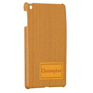 Orange Cardboard iPad Mini Case Template