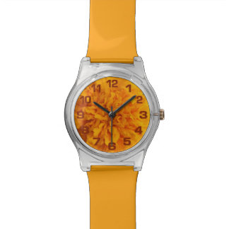 Orange Carnation custom watches