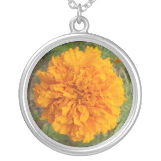 Orange Carnation necklace