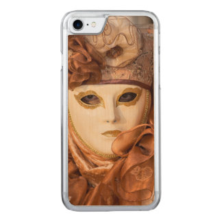Orange Carnival costume, Venice Carved iPhone 7 Case