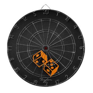 Orange Casino Dice Dartboards