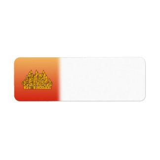 Orange Castle Label