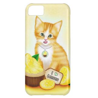 Orange Cat Cupcake Lemon iPhone 5 Case