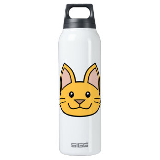 Orange Cat FACE0000001 01 SIGG Thermo 0.5L Insulated Bottle