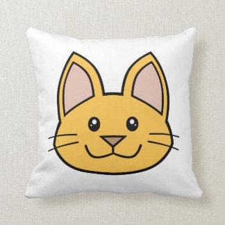 Orange Cat FACE0000001 Pillow 01 Pillow