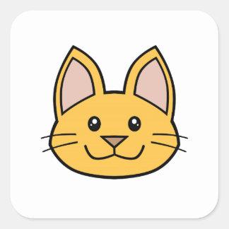 Orange Cat FACE0000001 Stickers 01